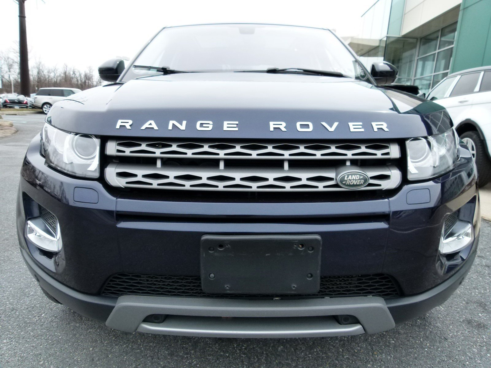 Certified Pre Owned 2015 Land Rover Range Rover Evoque Pure Plus 4