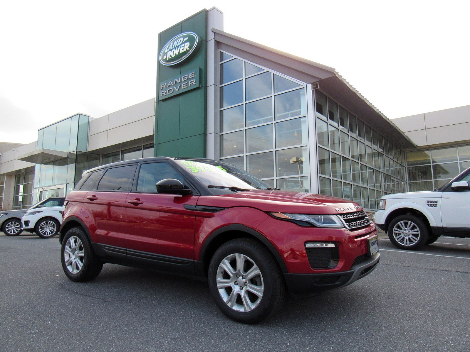 Certified Pre Owned 2016 Land Rover Range Rover Evoque SE 4 Door SUV